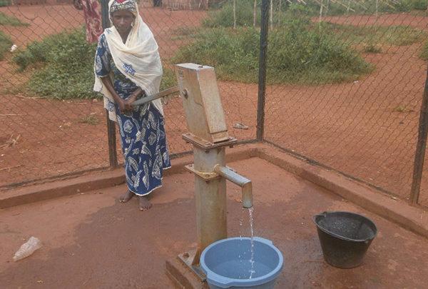Point d'eau à Sandji 2